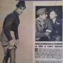 Cary Grant - Cinemonde Magazine Pictorial [France] (22 August 1949)