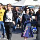 Dita von Teese and boyfriend Adam Rajcevich – Shopping in Los Angeles - 454 x 540
