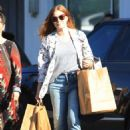 Amy Adams – Leaving a voting booth with husband in West Hollywood