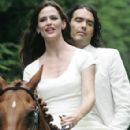 Russell Brand and Jennifer Garner