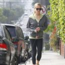 Kristin Cavallari takes her dog for a walk on March 15, 2012 in West Hollywood