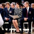 Prince Windsor and Kate Middleton Attend The Somme Centenary Commemorations In France - 2