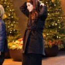 Lana Del Rey Outside Mandarin Hotel In New York