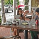 Nina Dobrev Goes Shopping And Gets Some Lunch In West Hollywood - 391 x 367