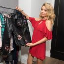 Candie's Creative Director Sarah Hyland shares her back-to-school campaign and collection at The London Hotel on July 17, 2017 in West Hollywood, California - 400 x 600