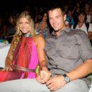 Josh Duhamel and Stacy Ferguson