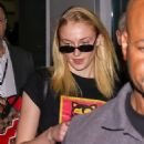 Sophie Turner – Arrives at the airport in Sao Paulo