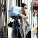Mandy Moore in Tights – Picks up her dry cleaning in LA - 454 x 669