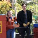Florence Pugh – Out with her boyfriend Zach Braff in Los Angeles