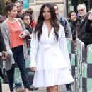 Camila Alves – Arrives at AOL Build Series in NYC - 454 x 681