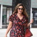 Kelly Brook at ITV Studios in London - 454 x 585