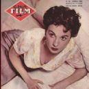 Jean Simmons - Amor Film Magazine Cover [France] (1 June 1957)
