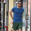 Zachary Quinto was spotted walking his dogs in New York City, New York on August 5, 2016 - 400 x 600