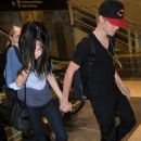Selena Gomez & Justin Bieber Arrive in Washington