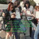 Johnny Ramone and joey ramone
