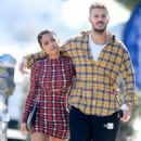 Christina Milian and Matt Pokora – Out of lunch in West Hollywood - 454 x 737