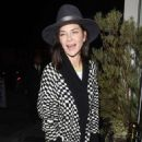 Jessica Szohr at Catch restaurant in Los Angeles February 21, 2017 - 454 x 702
