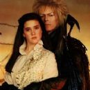 Jennifer Connelly and David Bowie