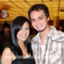 Nikki Gil and Billy Crawford Photograph