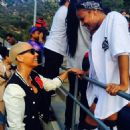 Amber Rose attends the Chris Brown & Quincy 'Kick'n It For Charity' Celebrity Kick Ball Game at the Glendale Sports Complex in Glendale, California - July 19, 2014