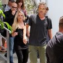 Britney Spears (with Jason Trawick) out for 'X-Factor' in Miami (July 24) - 454 x 682
