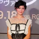 Audrey Tautou - 'Coco Avant Chanel' Press Conference At Grand Hyatt Tokyo On September 8, 2009 In Tokyo, Japan. The Film Will Open On September 18 In Japan