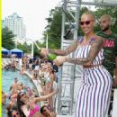 Amber Rose Hosts Liquid Sundays at the Foxwoods Resort Casino in Mashantucket, Connecticut - July 23, 2017 - 454 x 679