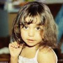 Meredith Kercher as a 2 year old