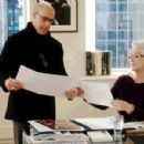 Nigel (Stanley Tucci) and Miranda Priestly (Meryl Streep) in The Devil Wears Prada - 2006