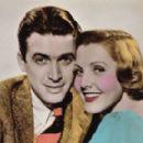 Jimmy Stewart and Jean Arthur