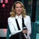 Anna Camp – Visits Build Studio in New York City - 454 x 302