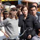 """Emma Watson's Skin-Baring """"Bling Ring"""" Workday"""