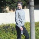 Hailee Steinfeld in Tracksuit – Out in LA