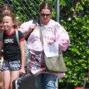 Melissa McCarthy out with her daughters and their friends in Los Angeles, California on April 04, 2017 - 424 x 600