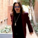 Musician Ozzy Osbourne is all smiles as he leaves a doctors office in Beverly Hills, California on February 27, 2017 - 454 x 544