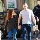 Kym Marsh and boyfriend Scott Ratcliff – Out in Manchester - 454 x 598