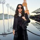 Salma Hayek – Saint Laurent Fashion Show in Paris