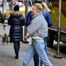 Sophie Turner – Leaving office building in NYC