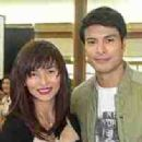 Rafael Rosell and Jennylyn Mercado
