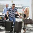 Bianca Gascoigne and boyfriend CJ Meeks Arrives at the airport in London - 454 x 498