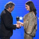 Joaquin Phoenix and Anne Hathaway At The 25th Annual Critics' Choice Awards (2020)
