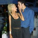 Christina Aguilera and Jorge Santos - 328 x 600