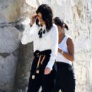 Kendall Jenner – Shooting of a commercial in France