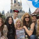 Rockstar Steven Tyler celebrates his birthday alongside family and friends at Magic Kingdom Park at Walt Disney World Resort March 26, 2016 in Lake Buena Vista, Florida.