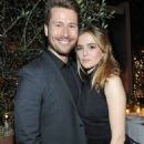 Zoey Deutch and Glen Powell