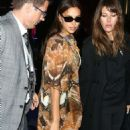 Irina Shayk – Arrives at LFW Love Magazine and Youtube Party in London