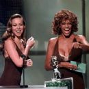 Mariah Carey and Whitney Houston At The MTV Video Music Awards 1998 - 454 x 356