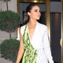Olivia Culpo – Leaves Off-White Dinner at L'Avenue in New York 04/24/2019