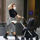 Chloe Sevigny – Out with her baby boy Vanja on Broadway in Noho - 454 x 484