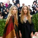 Mary-Kate and Ashley Olsen – 2018 MET Costume Institute Gala in NYC - 454 x 363